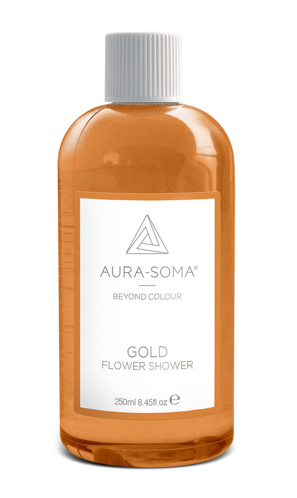 Aura-Soma® Flower Shower - Gold - Duschgel 250ml