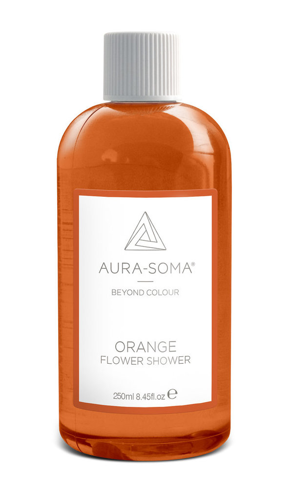 Aura-Soma® Flower Shower - Orange - Duschgel 250ml